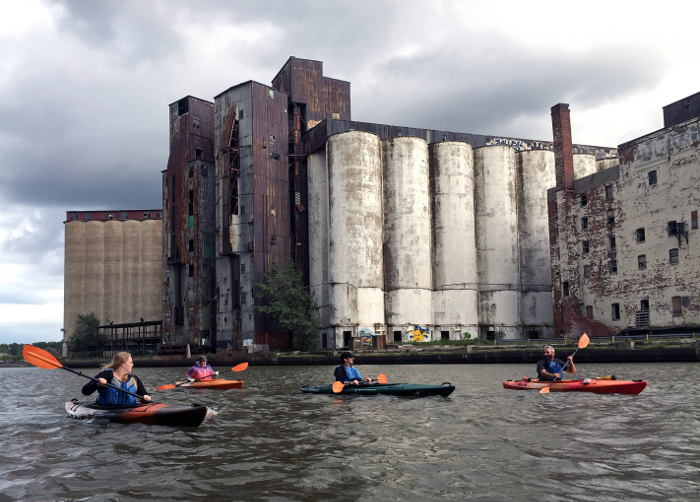 Elevator Alley Kayak Tour