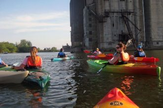 Elevator Alley Kayak, kayak launches buffalo, kayak tours buffalo, kayak rentals buffalo