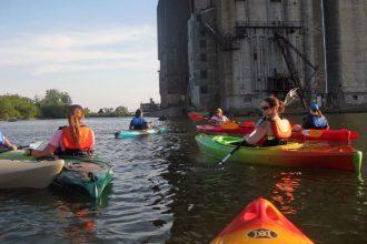 Elevator Alley Kayak, kayak launches buffalo, kayak tours buffalo, kayak rentals buffalo