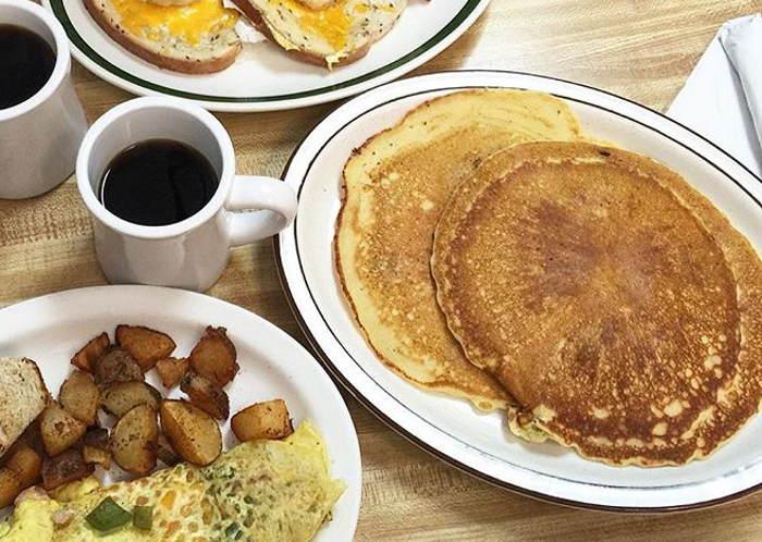 Pancakes, berthas