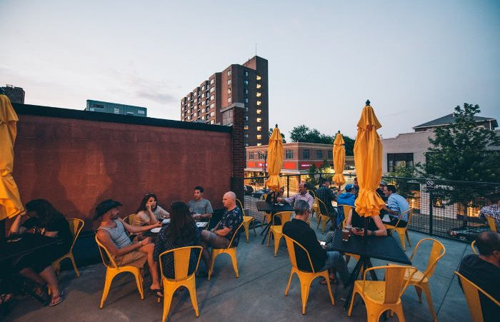 Thin Man Brewery Patio / Photo x Colin Gordon