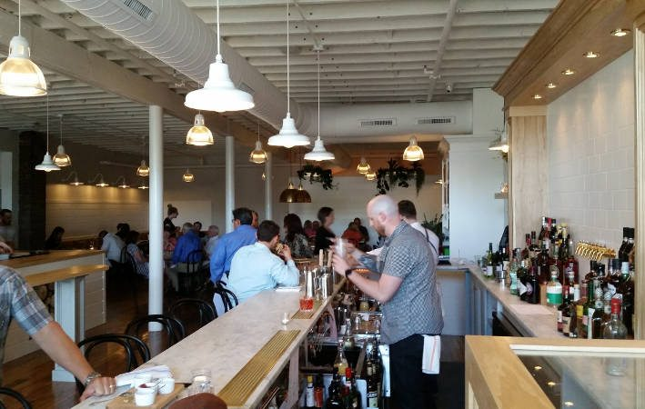 Grange Community Kitchen Hamburg - bar