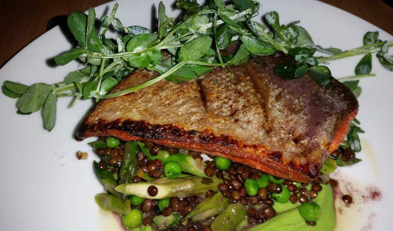 Roasted Sockeye Salmon