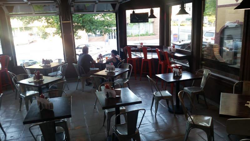 Joe's Deli dining area