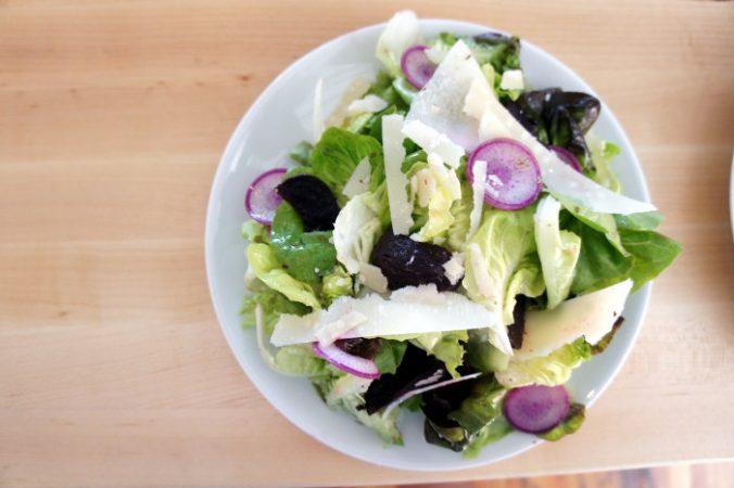 Roasted Beet & Kholrabi Salad at The Grange / Step Out Buffalo