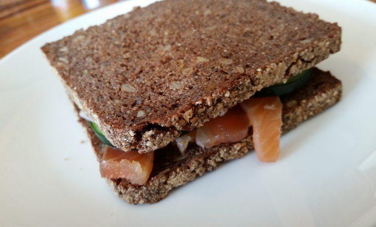 Lait Cru Brasserie salmon