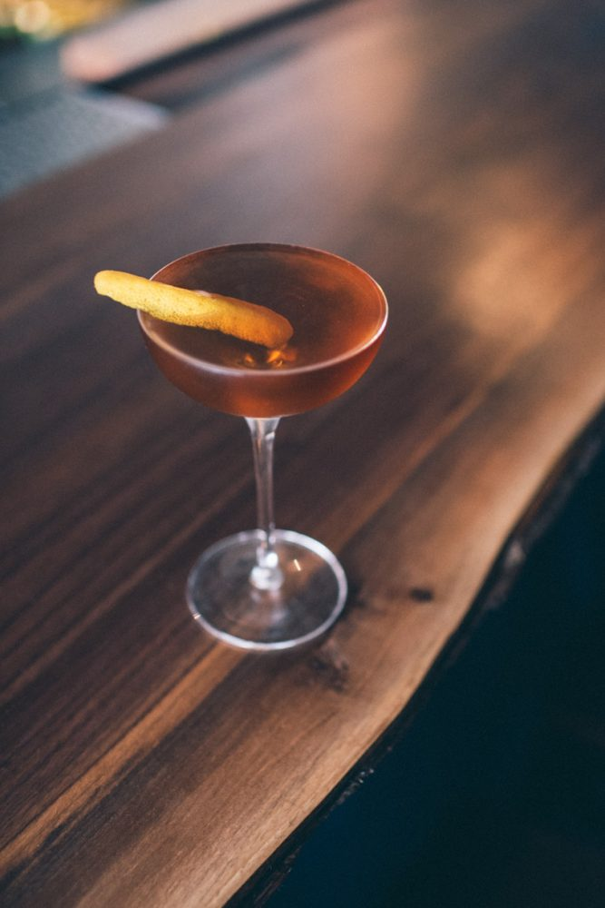 Hecklinger: Rye, Meletti, dry vermouth, bonal, thai bitters  / Photo x Colin Gordon