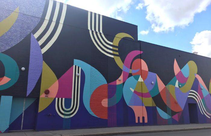 Buffalo Street Art, Theater District Mural