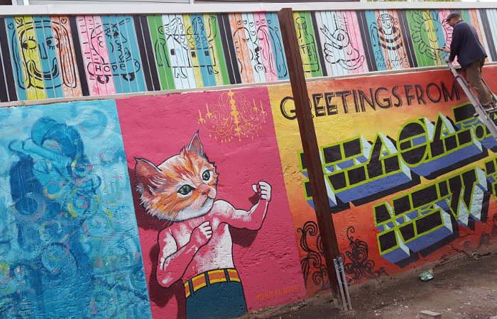 Art Alley NF, Buffalo Street Art