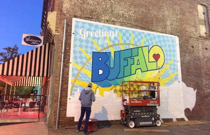 Greetings from Buffalo NY, Buffalo Street Art