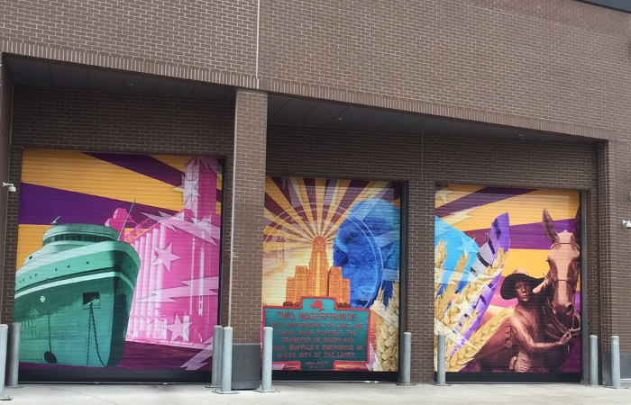 HarborCenter, Buffalo Street Art