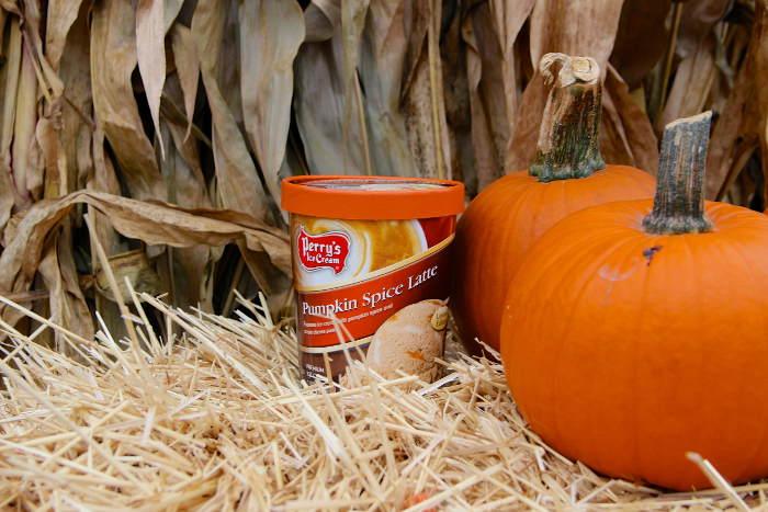 Perrys Pumpkin Spice Latte Ice Cream