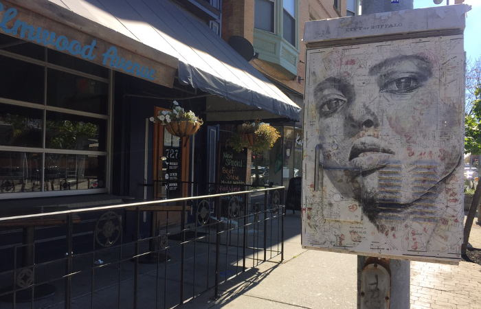 Signal Boxes , Buffalo Street Art
