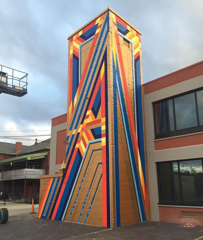 Tower of Power, Buffalo Street Art
