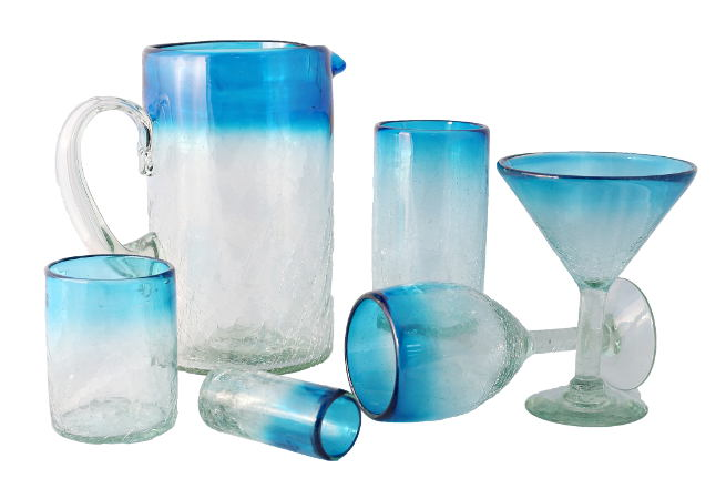 Feel Rite Gift Guide, Bambeco Recycled Glasses