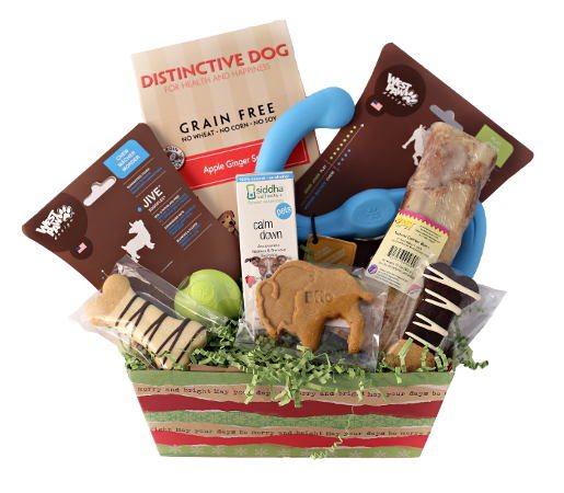 Feel Rite Gift Guide, Doggie Gift Basket