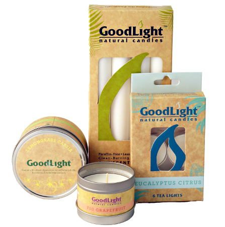 Feel Rite Gift Guide, Good Lights Candles