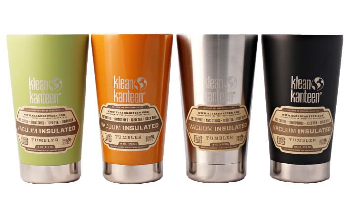 Feel Rite Gift Guide, Klean Kanteen Insulated Tumblers