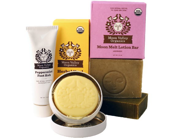 Feel Rite Gift Guide, Moon Valley Organics