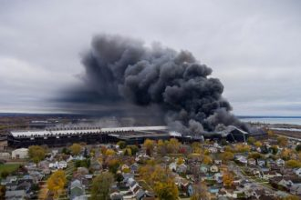 Bethlehem Steel photo x @buffaloaerialproductions