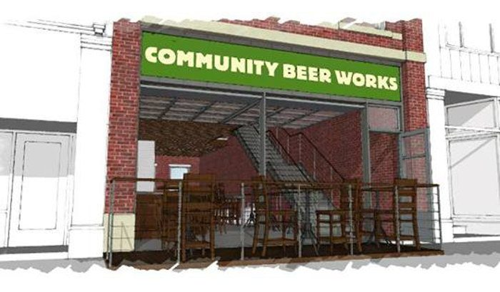 Community Beer Works Rendering of Brewpub and Barrel Bar in Niagara Falls