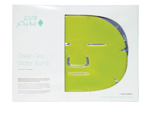 Green Tea Water Bomb, renew bath and body gift guide