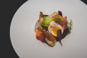Roasted Beet Salad, Olivers