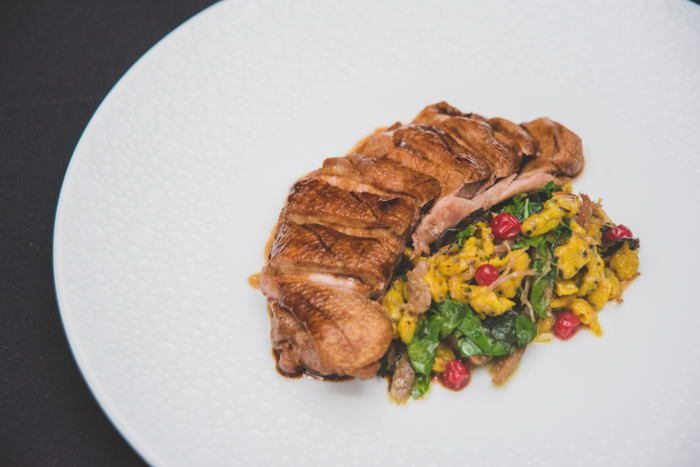 Seared Duck Breast , Olivers