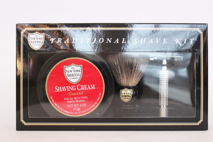 renew bath and body gift guide, The New York Shaving Company Traditional Shave Kit