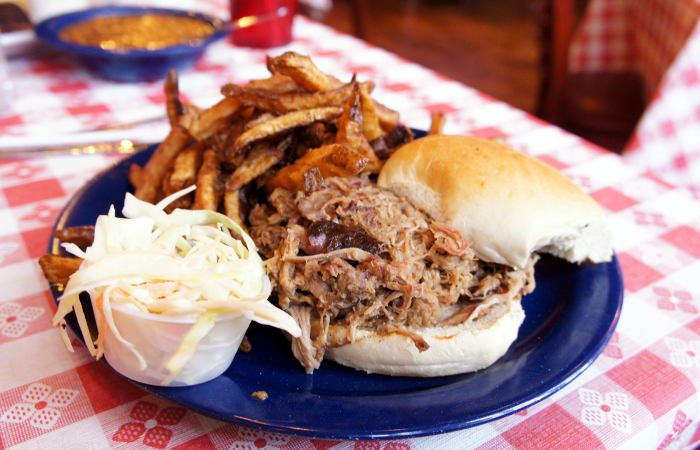 Memphis Pulled Pork Sandwich at Fat Bob's / Step Out Buffalo