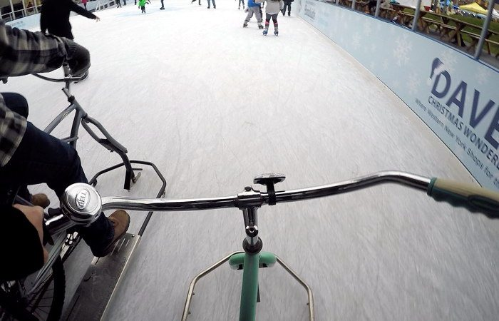 Ice Biking in Buffalo