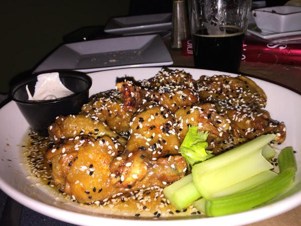 Ginger Sesame Chicken Wings