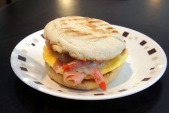 Comfort Zone Roasted Red Sunrise Breakfast Sandwich