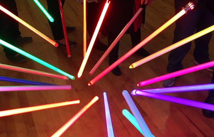 light sabres