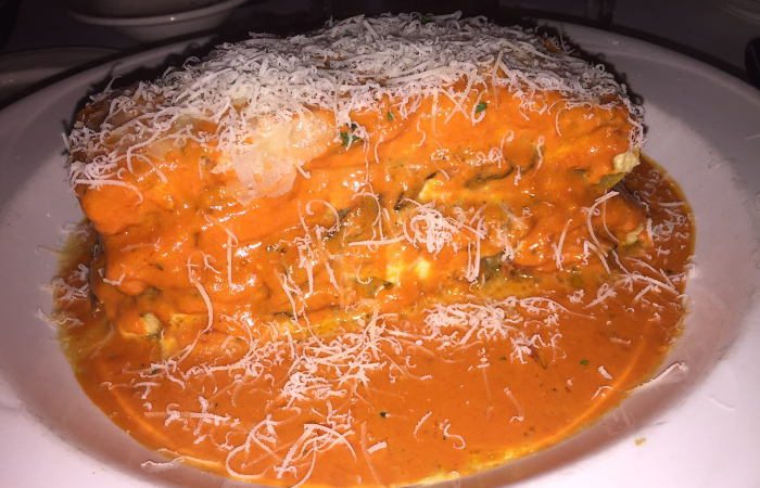 Vegetarian Lasagna at Mangia / Photo x Jessica Kelly