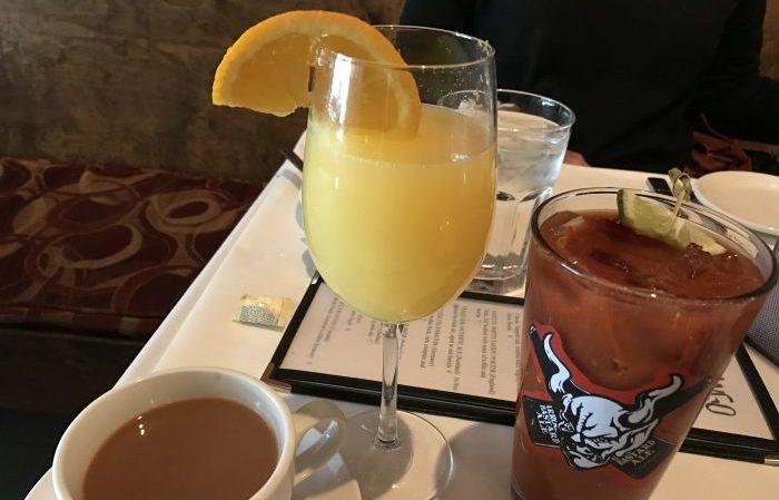 Bloody Mary and mimosa at Shango / Step Out Buffalo