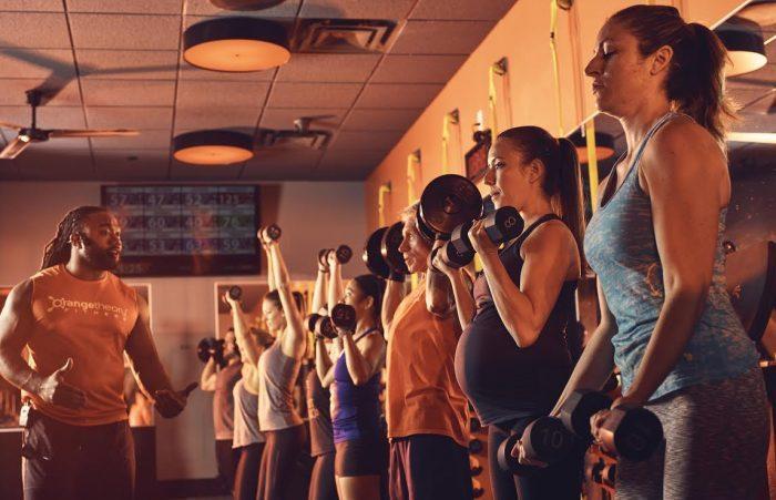 Photo courtesy of Orangetheory Fitness
