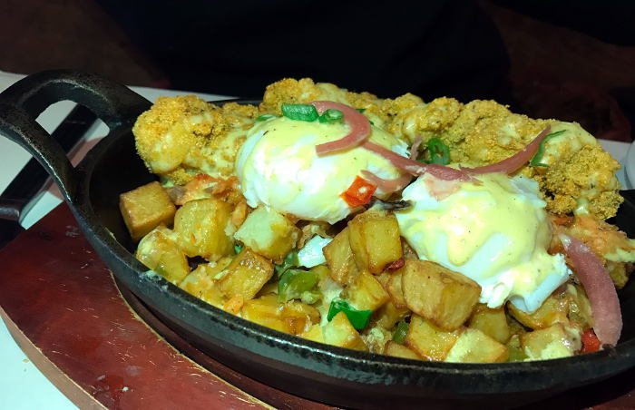 Smoked Salmon Hash / Step Out Buffalo