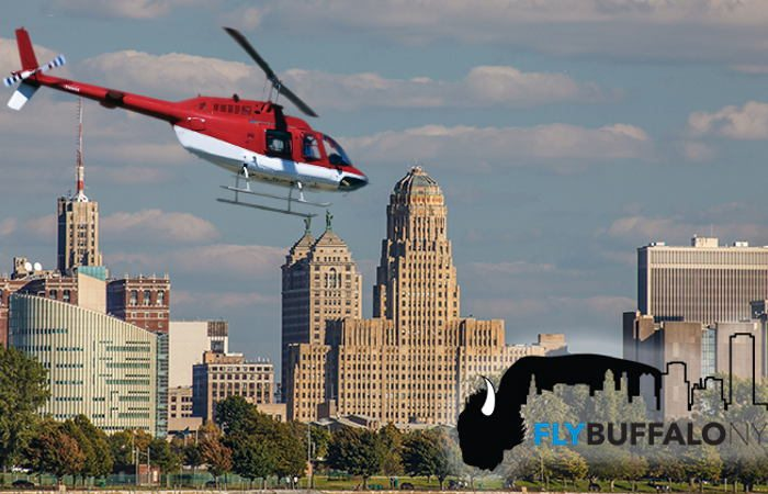 Buffalo Bucket List: Helicopter Over the City