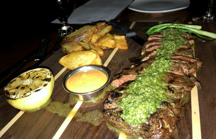 Skirt Steak at The Terrace / Step Out Buffalo