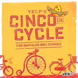 yelp, cinco de cycle, buffalo