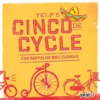 yelp, cinco de cycle, buffalo