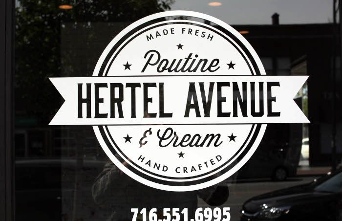 Hertel Avenue Poutine & Cream / Photo x Brett Anderson