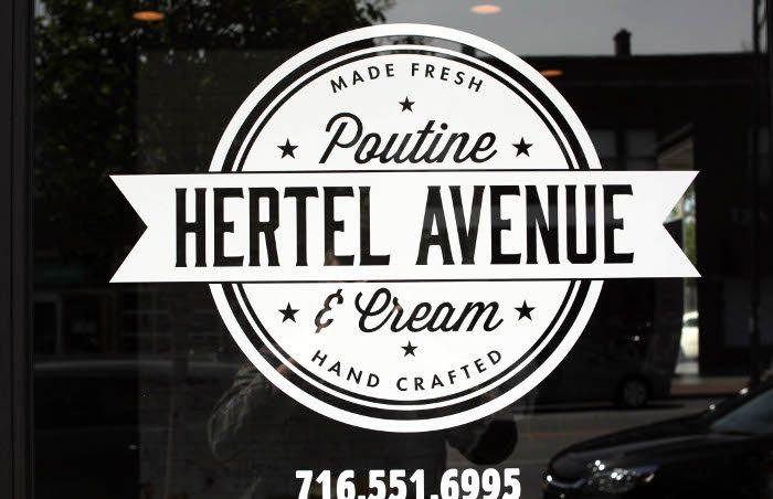 Hertel Avenue Poutine & Cream / Photo x Brett Anderson