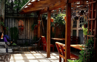 The Dapper Goose Patio / Photo courtesy of The Dapper Goose
