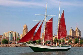 Spirit of Buffalo waterfront boating