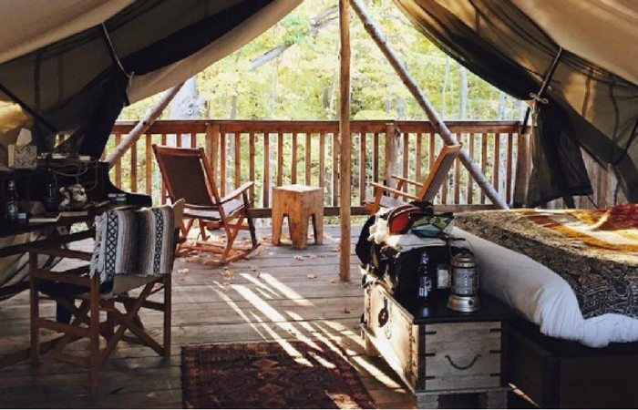 Your Ultimate Guide to Glamping Within a 6 Hour Drive from Buffalo