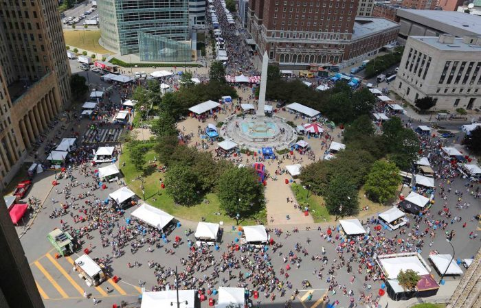 56 Restaurants Serving Healthy Options at Taste of Buffalo