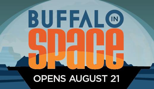 Buffalo In Space Exhibit