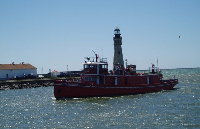 How to Tour the World's Oldest Active Fireboat for Free